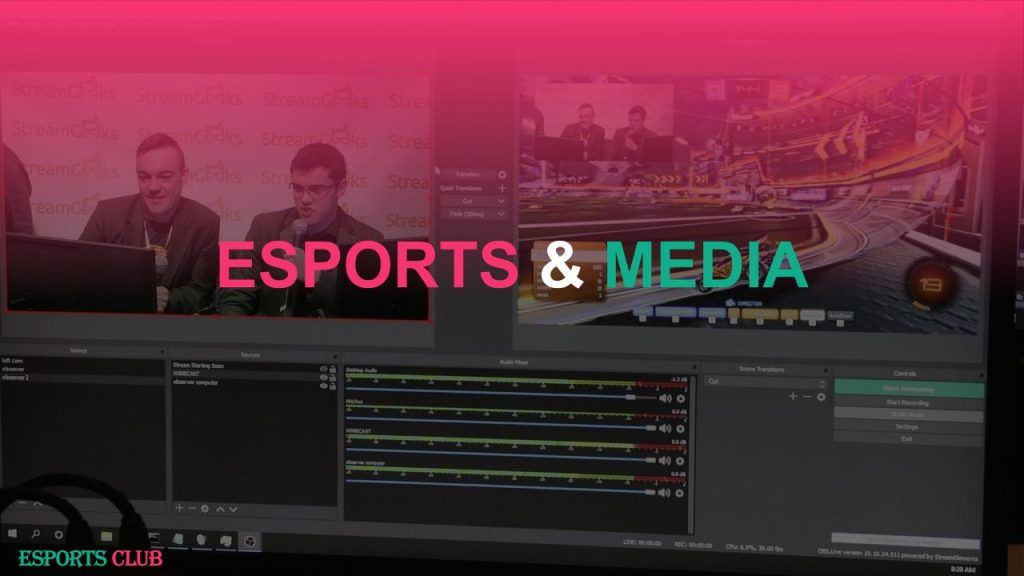 Esports & Media Course