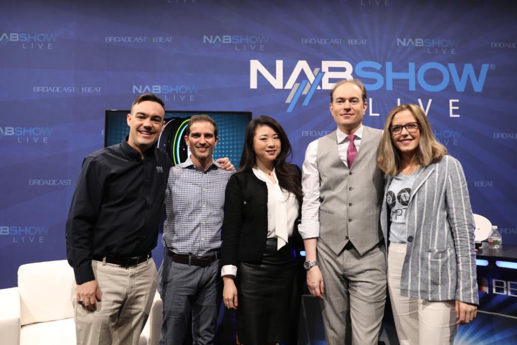 Live Stream Set up NAB Show