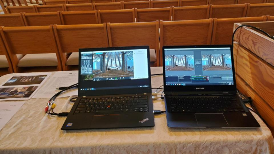 Using zoom for worship services