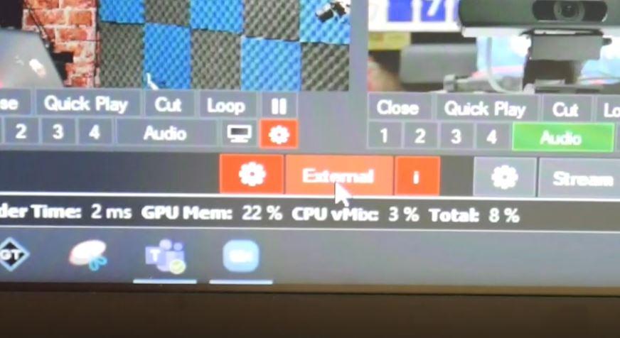 virtual camera output