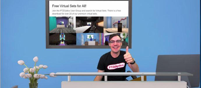 Virtual Sets for Zoom Meetings