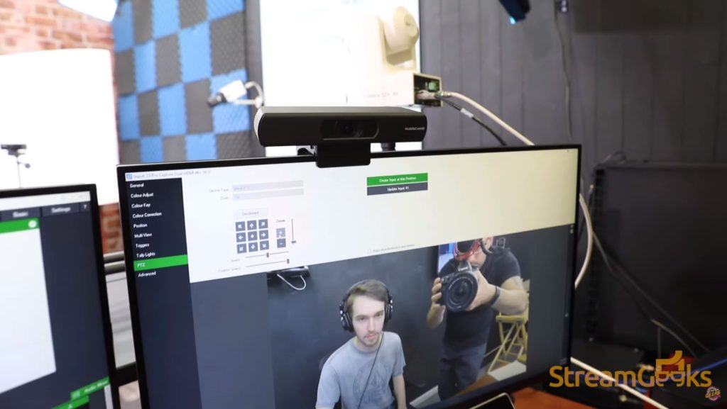 4K live streaming camera