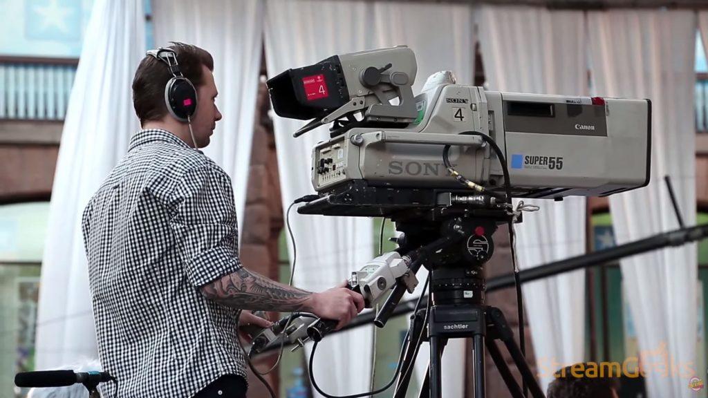 broadcast cameras for live streaming