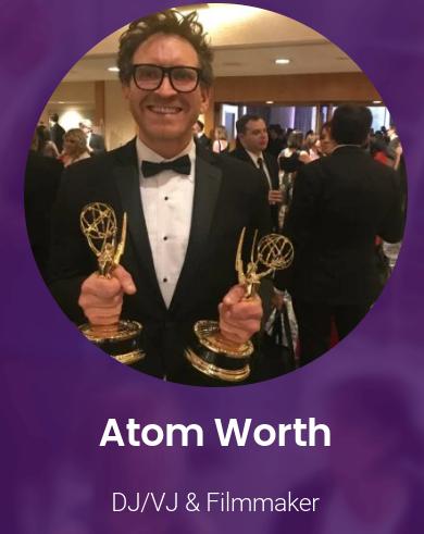 Atom Worth Live Performance