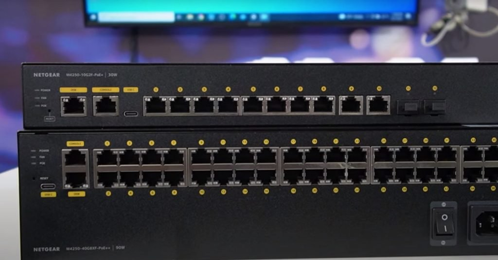 NDI optimized Network Switch